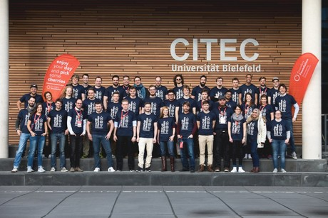 "Caption: 50 participants attended the first ""Start-up Hackdays Weekend"" at CITEC. Photo: Founders Foundation"