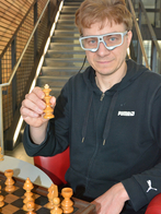 On this project, Dr. Kai Essig and his colleagues are researching which computer models can predict a player's behavior in a game of chess. Photo: CITEC/Bielefeld University