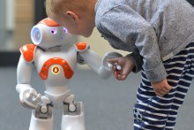 In the project L2Tor, humanoid robot Nao helps children learn a foreign language.