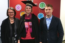 Anja Philippsen successfully completed her dissertation.